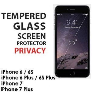 IPhone XS Privacy Screen Tempered Glass
