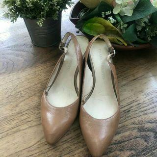 Leather shoes franco sarto (hb 2,5jt)