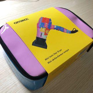全新可預訂 美國版 Amika Mini Ionic Hair Dryer Fun 迷你風筒 旅行風筒