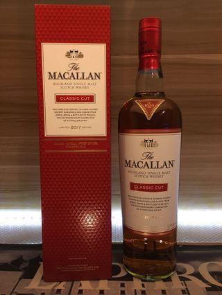 Macallan Classiccut 2017 W Box