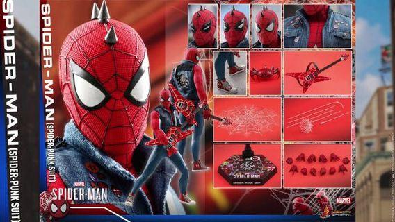 [IN STOCK] Hot Toys SpiderPunk