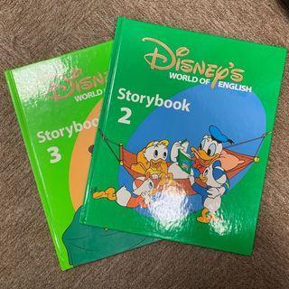 迪士尼美語2本