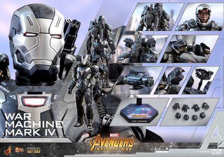 [IN STOCK] Hot Toys War Machine Mark 4 Infinity War