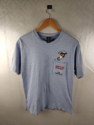 Vtg 1998 Looney Tunes Tazmania Devil Embroid Tshirt