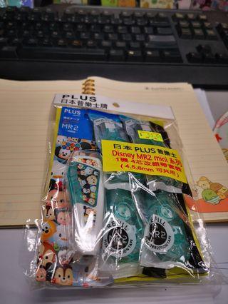 全新日本Plus MR2 mini tsum tsum 塗改帶 連芯