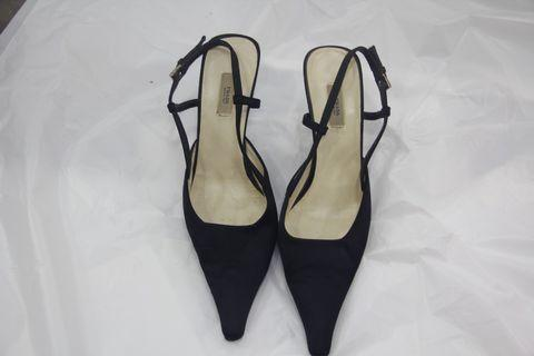 Prada black high heel