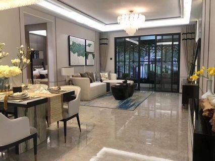 中山純住宅現樓發售即買即辦證,配套巴士站直達香港