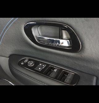 Honda vezel hrv gloss black window controls interior door handles