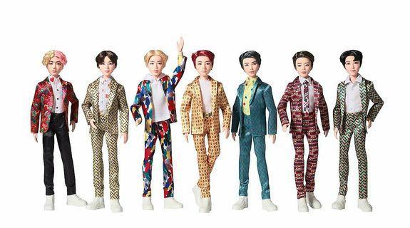 (PRE-ORDER) MATTEL × BTS Official Fashion Doll