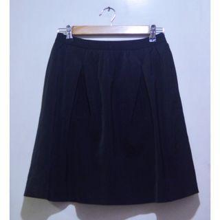 PLAYLORD Black Skater Skirt