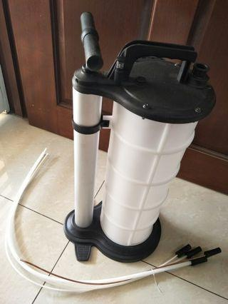 9 Litre Engine Oil Gearbox Brake Suction Extraction Pump