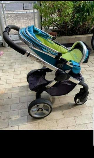 🚚 Clearance at $70. ICANDY baby pram