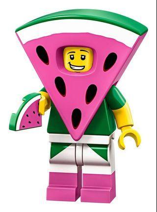 Lego Movie Watermelon Guy