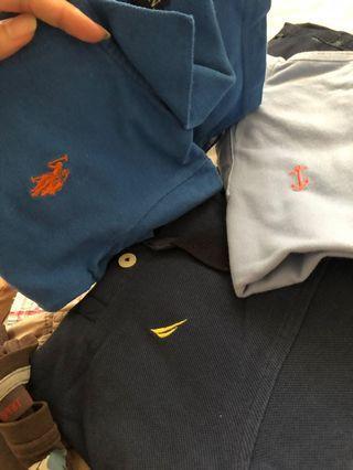 Boys clothings.
