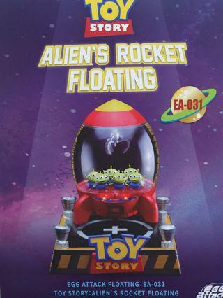 迪士尼三眼怪漂浮