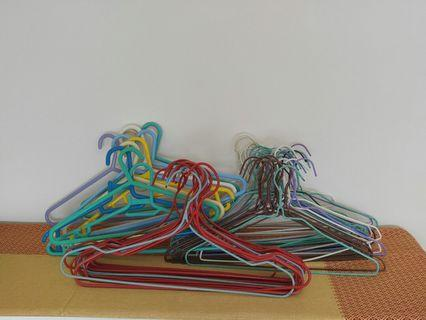 Mix of new & used hangers ~70pieces