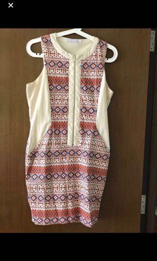 🛍 Dressabelle Tribal Dress