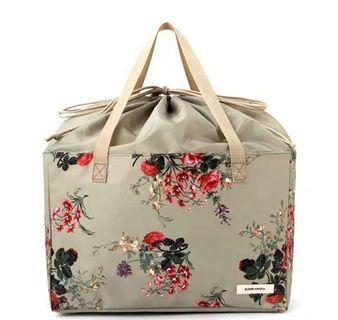 Super Hakka 手挽袋 日本 MOOK 花朵 清新 束口購物袋 托特包