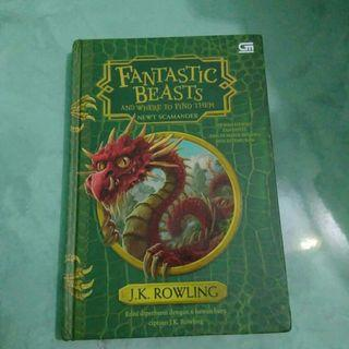 Fantastic beasts and Where to Find Them Newt Scamander by JK Rowling