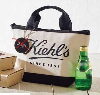 Kiehl's 日雜附錄 保溫包 保冷手提袋 便當袋 托特包 野餐袋(無鏡子)