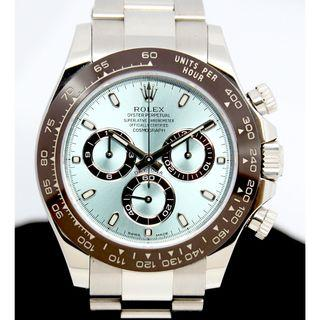 Rolex Platinum Ceramic Bezel Daytona Ref:116506