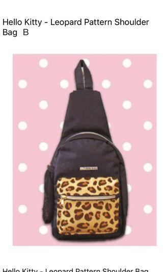 Authentic Hello Kitty Crossbag black