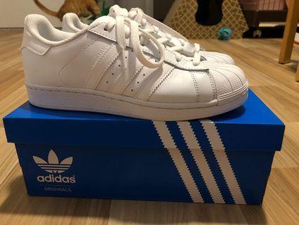 Adidas Super Star 全白色