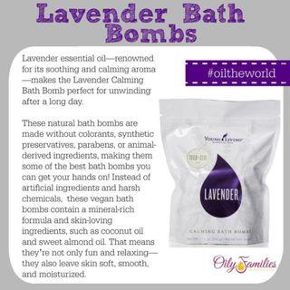 [FREE MAIL]Young Living Lavender bath bombs