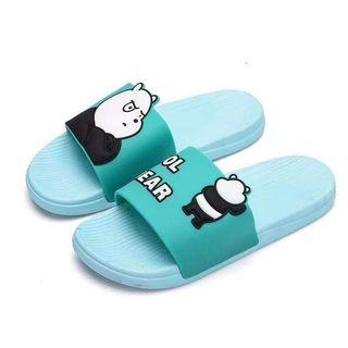 The bare bear flippers