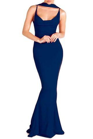 BNWT Navy Zachary the Label Gown 😍RRP 250 😍