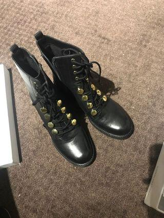 Jo Mercer Vince Mid Ankle Boots Size 37