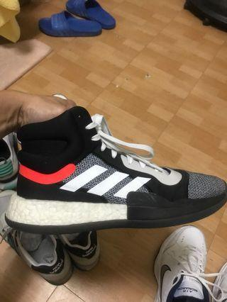 Adidas marquee boost 籃球鞋 二手 TOP TEN style