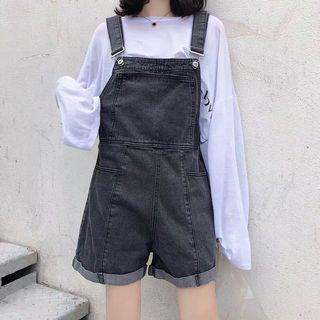 Denim Dungaree jean (S~XL)