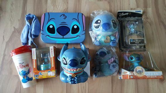Stitch Plush and misc items