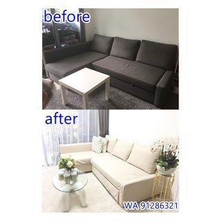 (Cover) Custom made ikea sofa cover / other sofa