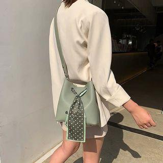 Pastel avocado green sliding bag