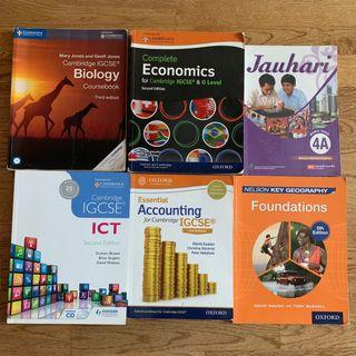 WTS Textbooks