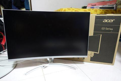"""27"""" Acer Gaming Monitor Curved FHD ED273A 144HZ Refresh Rate"""