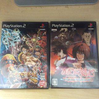 PS2 Game 海賊王同浪客劍心