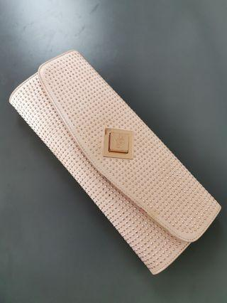 Ted Baker satin clutch