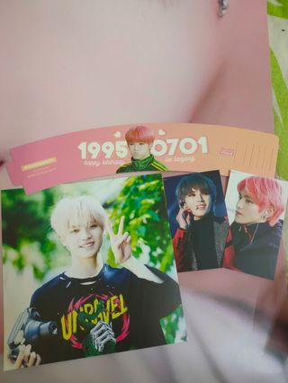 MonCheriTY Cupsleeve and freebies set