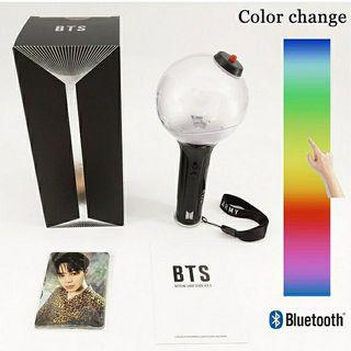 BTS OFFICIAL LIGHT STICK - Official Army bomb ver.3