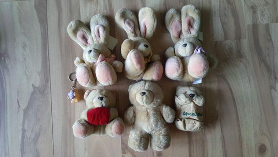 Kalms Forever Friends Bears and Bunnies