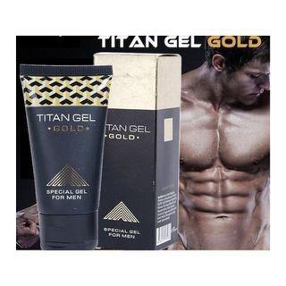 Titan Gel Gold - Gel Untuk Membesarkan Mr. P Anda. 100% Asli Rusia!