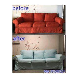 Sofa Cover MAKER **Every covers are made to measure