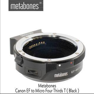 Metabones Canon EF to Micro Four Thirds T ( Black )