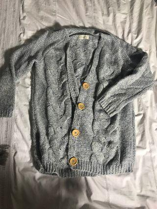 PETER ALEXANDER blue cardigan