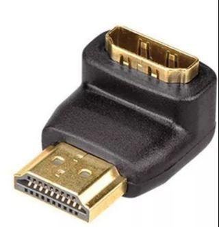 🚚 90 Degree HDMI adapter (1080P HDTV)