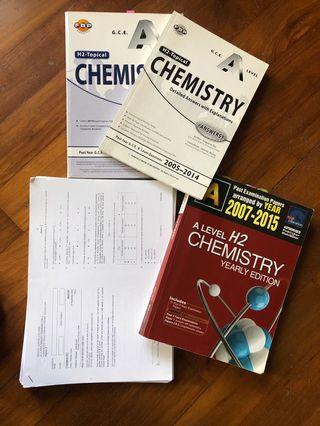 A level Chemistry H2