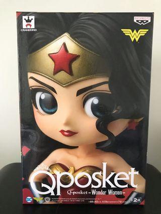 日版 Qposket Wonder Woman figure 神奇女俠模型